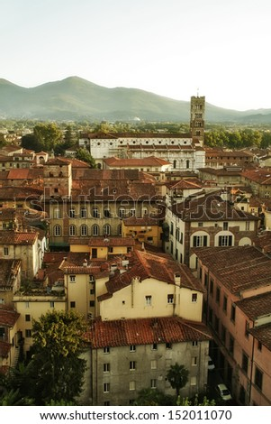 Lucca. Italy - stock photo