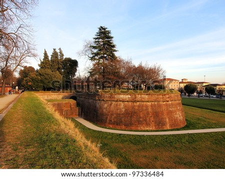 Lucca, Italy - stock photo