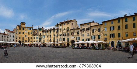 Lucca - Medieval Town in Tuscany / Italy
