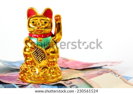 Lucky Cat - stock photo