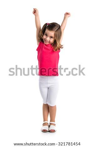 Lucky girl - stock photo