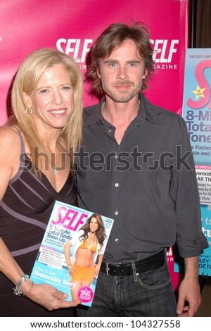 Lucy Danziger and Sam Trammell at the Self Magazine July 2009 L.A. Issue Party. Sunset Towers, West Hollywood, CA. 06-18-09
