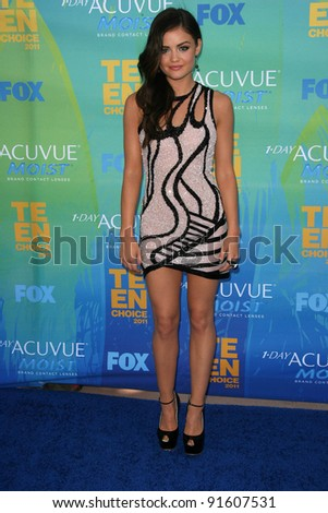 Lucy Hale at the 2011 Teen Choice Awards, Universal Amphitheater, Universal City, CA. 08-07-11