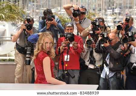 "Lucy Punch at the photocall for her movie ""You Will Meet A Tall Dark Stranger"" out of competition at the 63rd Festival de Cannes. May 15, 2010  Cannes, France Picture: Paul Smith / Featureflash"