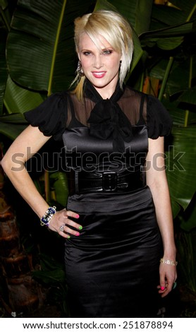 Lucy Walsh attends the Scandinavian Style Mansion held at the Private Residence in Beverly Hills, California, United States on March 14, 2008.  - stock photo