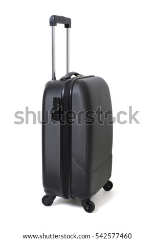 Luggage on White Background