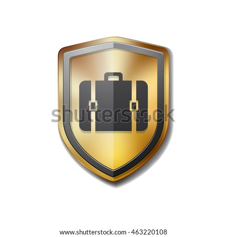 Luggage protection shield