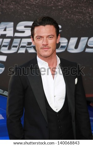 "Luke Evans at the ""Fast And Furious 6"" Los Angeles Premiere, Gibson Amphitheatre, Universal City, CA  05-21-13"