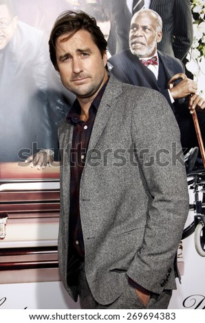 Luke Wilson at the Los Angeles premiere of 'Death At A Funeral' held at the ArcLight Cinerama Dome in Hollywood on April 12, 2010.