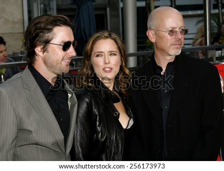 "Luke Wilson, Tea Leoni and John Dahl attend the Los Angeles Premiere of ""You Kill Me"" held at the ArcLight Cinemas in Hollywood, California, on June 11, 2007."