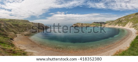 Lulworth Cove on Dorset's Jurassic Coast
