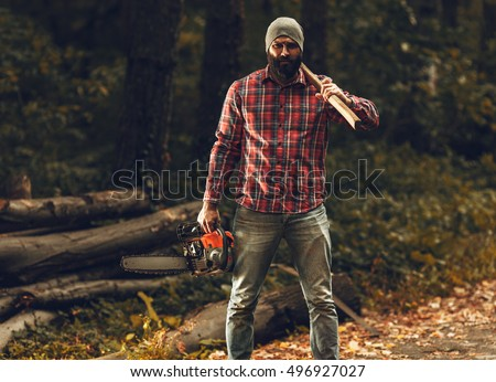 Thus To Feel Protected And Convenient The Lumberjacks Choose Wear Flannel