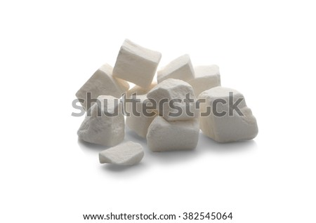lump sugar isolated on a white background. Eastern sweetness.