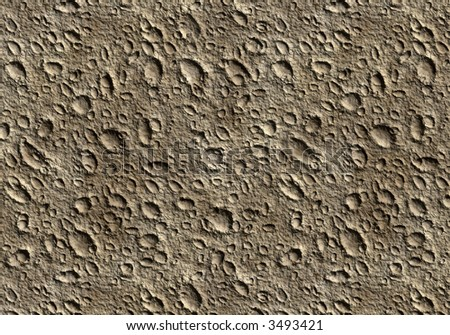 Lunar surface background texture - stock photo