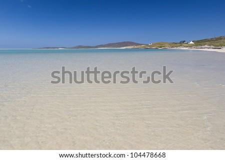 Luskentyre  - Outer Hebrides (Scotland) - stock photo