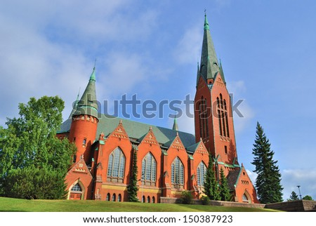 Lutheran Church of St.Michael in Turku, Finland