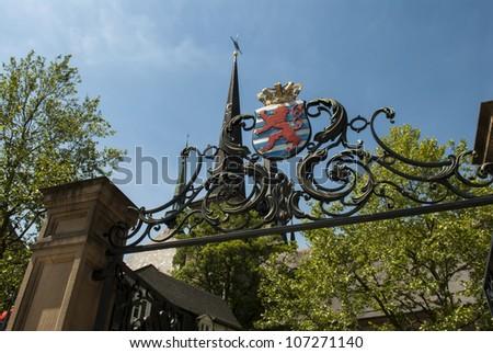 Luxembourg City - stock photo