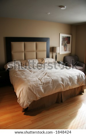 Luxurious Bedroom - stock photo