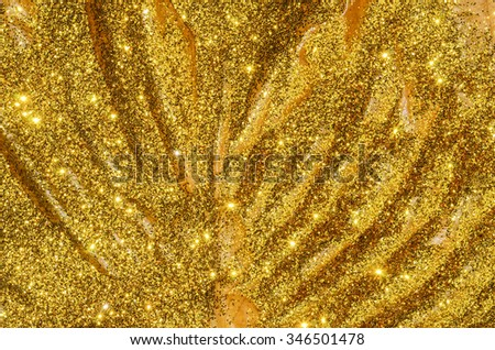 Luxurious glittering background with textured pattern / Abstract background / Ideal for christmas, wedding, holiday, festive season, and promotion theme - stock photo