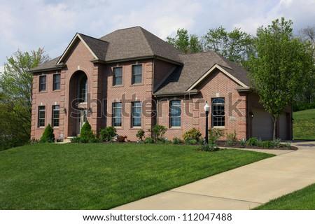 Luxurious House - stock photo