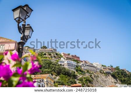 Luxurious Mediterranean landscape - stock photo