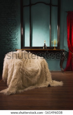 Luxurious vintage interior in the aristocratic style  - stock photo