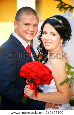 luxurious wedding - stock photo