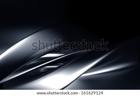 Luxury abstract background 3d illustration - stock photo