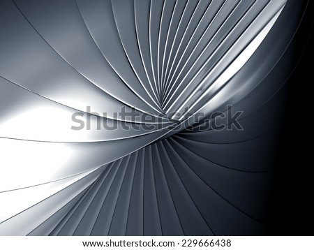 Luxury abstract metal background 3d illustration