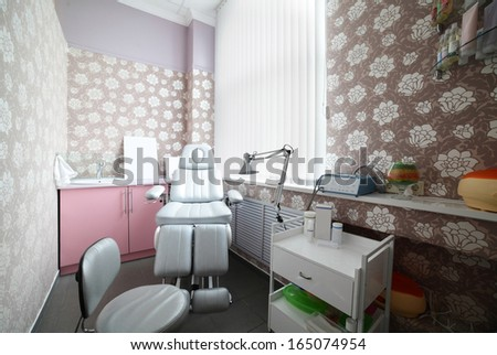 luxury and very clean massage room in european style