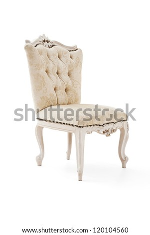 Luxury armchair - stock photo