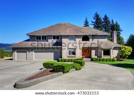 brick garage buildings brick house stock images royalty free images vectors shutterstock