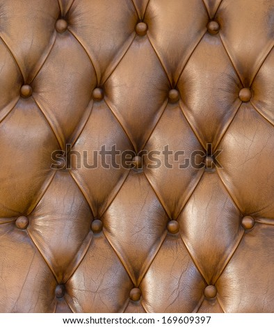 Luxury brown leather