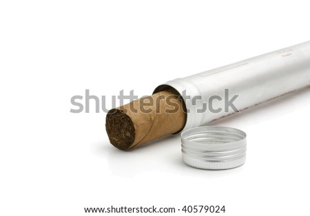 luxury cigar in cover