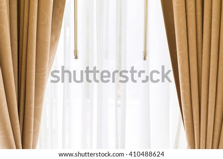 Luxury elegance vintage curtain (drape)