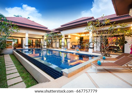 Interior Exterior Designs dan gayfer design brings customised and considered innovation to residential building interior and exterior design to enhance everyday life Luxury Exterior Design Pool Villa With Interior Design Living Room