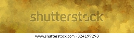 luxury gold vintage background, golden banner with hammered textured blended paint - stock photo