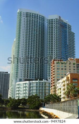 Luxury Highrises - stock photo