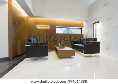 Luxury hotel interior, lobby,resting area