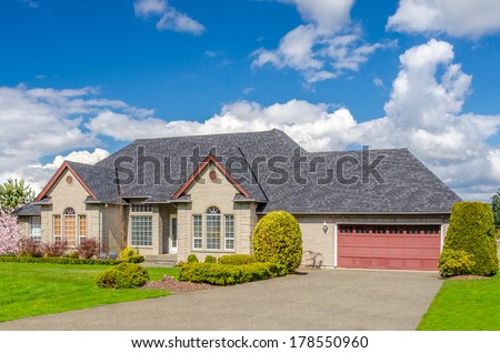 Luxury house. - stock photo