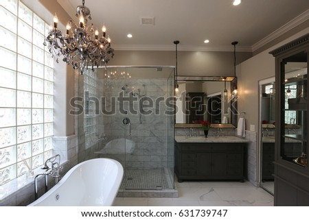 Luxury Master Bathroom - Landscape