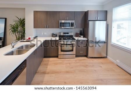 Luxury Modern Kitchen. Interior Design. Part 90