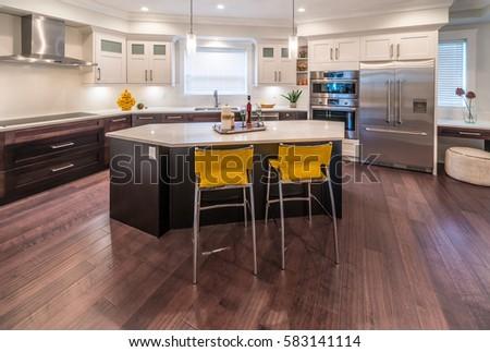 luxury modern kitchen interior design