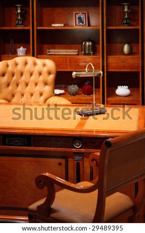Luxury office interior - stock photo