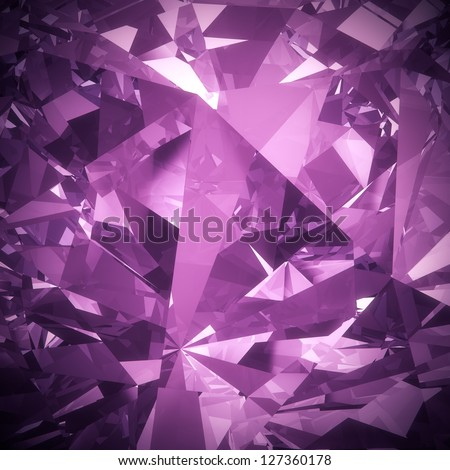 Luxury purple diamond background - stock photo