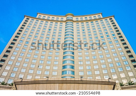 Luxury residential building - stock photo
