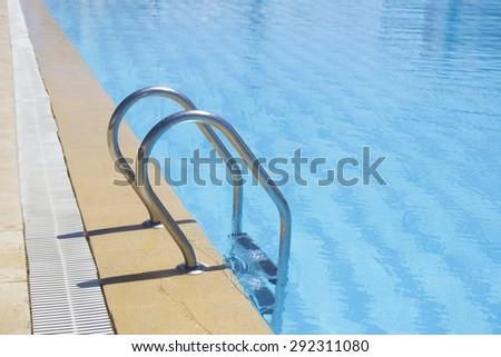 Luxury Resort Pool in Tunisia - stock photo