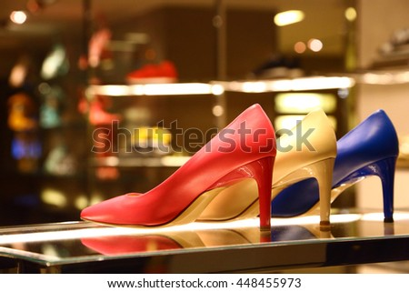 Shoe Store Stock Images, Royalty-Free Images & Vectors | Shutterstock