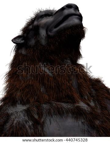 Lycan Werewolf 3d illustration - stock photo