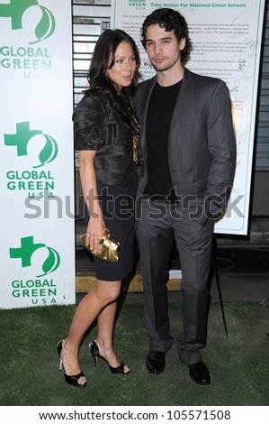 Lynn Collins and Steven Strait at Global Green USA's 6th Annual Pre-Oscar Party. Avalon Hollywood, Hollywood, CA. 02-19-09